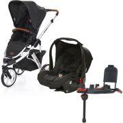 Carrinho de Bebê Travel System Salsa 3 Piano + Base - ABC Design