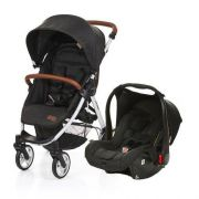 Carrinho Travel System Avito + Bebê Conforto Piano e Adaptador - ABC Design