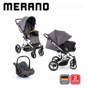 Carrinho Travel System Merano Trio Diamond - ABC Design