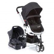 Carrinho Travel System Mobi Black e White Safety 1st - Dorel  Ref Cax90258