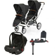 Carrinho Travel System Zoom Piano + Base e Adaptador - ABC Design