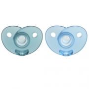 Chupeta Soothie 0-6M dupla Philips Avent Azul - SCF099/01