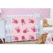 Cobertor Baby Flannel Etruria Nina Rosa