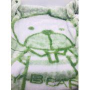 Cobertor Flannel Puppy Verde - Etrucia Ref 236657