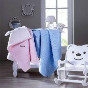Cobertor Infantil Carneirinho 90x110cm Rosa - Jolitex