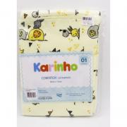 Cobertor Karinho 90 cm x 70 cm Elefante Bandeira  - Papi Ref 1449