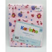 Cobertor Karinho 90 cm x 70 cm Florzinha  - Papi Ref