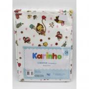 Cobertor Karinho 90 cm x 70 cm Menina Balanço  - Papi Ref1446