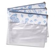 Conjunto 3 Saquinhos Fauna - Masterbag Ref 12fau604