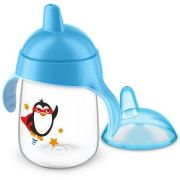 Copo Com Pinguim 18m+ 340ml Azul - Avent Ref Scf755/05