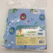 Cueiro Estampado Azul, Verde e Branco - Bercinho Incomfral  rf 03000700020002