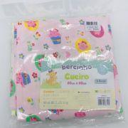 Cueiro Estampado Rosa, Amarelo e Branco - Bercinho Incomfral rf 03000700020001