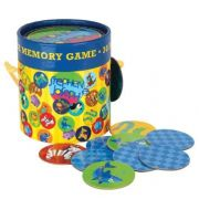 Jogo da Memória Floresta Azul - Bup Baby Ref 0002478