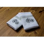 Kit 2 Boquinhas Suedine  Bike Geo  - Ac Baby Ref 04113 49U