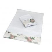 Kit 2 Fronhas Antissufocante Floral Poa - Ac Baby Ref 05378 624U