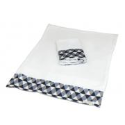 Kit 2 Fronhas Antissufocante Triangulo Carros - Ac Baby Ref 05378 612U