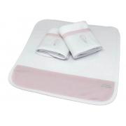 Kit 3 Boquinhas Atoalhado Rosa Quartzo - Ac Baby Ref 04127 286 U