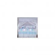 Kit Berço 11 Pçs Elefantinho Azul - Bruna Baby Ref 1375