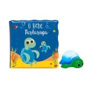 Kit Livrinho de Banho Tartaruga Com Luz - Buba Baby Ref 7495