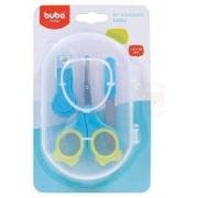 Kit Manicure Estojo Azul - Buba Ref 6140