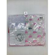 Kit Passeio do Bebê Nuvem Rosa - Fisher Price Incomfral Ref 72812