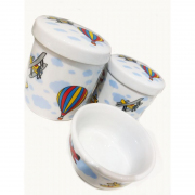 Kit Porcelana Balão - 3 PÇS