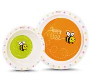 Kit Prato e Tigela Happy Bee - Comtac Ref 5416400