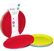 Kit Pratos Plasticos 5u - Comtac Ref 54164146