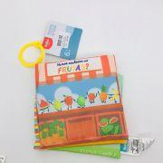 Livro Conhecendo as Frutas - Buba Baby Ref 6847