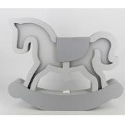 Luminária Cavalo de Pau - rh Luminária Ref Lml-13