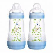 Mamadeira 2 un First Bottle Azul Raposa - Mam Ref 4673