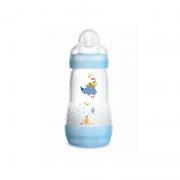 Mamadeira 2 UN First Bottle Azul Rinoceronte  - MAM Ref 4673