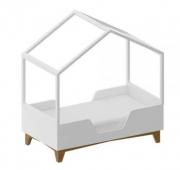 Mini cama Eco com Casinha