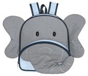 Mochila Kids Elefante Azul - Batistela Ref 047mo