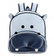 Mochila Kids Hipopotamo Azul - Batistela Ref 047mo