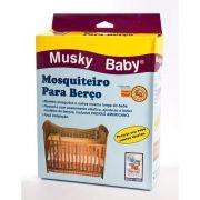 Mosquiteiro Para Berço - Musky Baby  Ref 1320