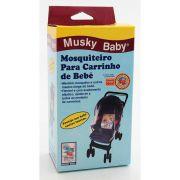 Mosquiteiro Para Carrinho Universal - Taty Musky Baby Ref 1318