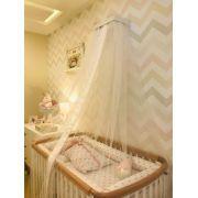 Mosquiteiro Simples Branco - Fau Home Ref 05070011