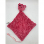 Naninha com Prededor de Chupeta Rosa Escuro - Incomfral Ref 0003