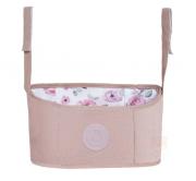 Necessaire Carrinho Rose Flora - Masterbag Baby Ref 11flo401