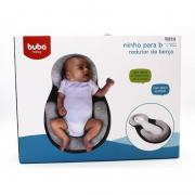 Ninho Para Bebe Redutor de Berço Cinza Buba Ref 10714