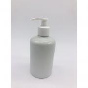 Porta Álcool Gel Porcelana Branco Liso -  1 UND