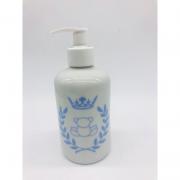 Porta Álcool Gel Porcelana Branco Príncipe Ursinho -  1 UND