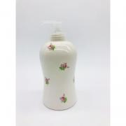 Porta Álcool Gel Porcelana Mini Rosas - 1 UND