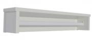 Prateleira Retrô Maior Branco Fosco - Quater   REF. 4160