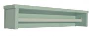 Prateleira Retrô Maior Verde Fosco - Quater   REF. 4160