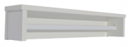 Prateleira Retrô Menor Branco Fosco - Quater   REF. 4161
