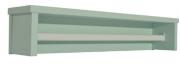 Prateleira Retrô Menor Verde Fosco - Quater   REF. 4161
