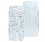Protetor Carrinho Bichinho Fauna Azul - Masterbag Ref 12fau603