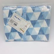 Roupão de Banho 2 a 5 Anos Triangulo Azul - m Mimo Minasrey Ref 5632